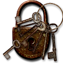Steampunk Log-out Icon