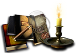 Steampunk Library Icon