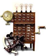 Steampunk GPS or Routefinder Icon by yereverluvinuncleber
