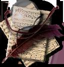 Steampunk Kompozer/NVU Music Icon by yereverluvinuncleber