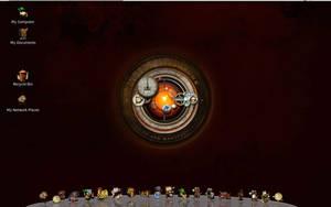 Linux Steampunk desktop MkI by yereverluvinuncleber