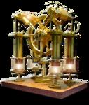 Steampunk CPU  Performance Icon