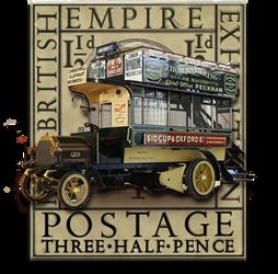 Steampunk Omnibus Google Maps Autoroute Icon by yereverluvinuncleber