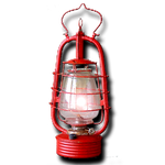 Steampunk Hurricane Lamp Icon MkII