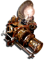 Steampunk Photoshop Icon MkIV