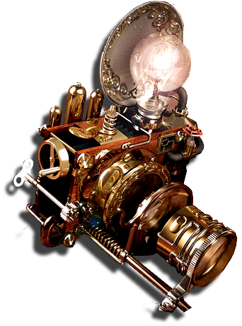 Steampunk Photoshop Icon Mkiv By Yereverluvinuncleber On
