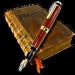 Steampunk Diary Icon for Lotus Organiser MkIII