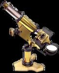 Steampunk Microscope Search Icon MkIV