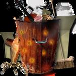 Steampunk Recycle Bin Icon MkIII
