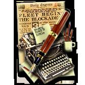 Steampunk Frontpage DreamWeaver Web Design Icon by yereverluvinuncleber