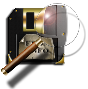 Steampunk Read from Disc (open) Icon