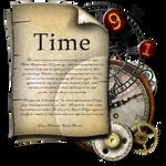 Steampunk Time Folder Icon
