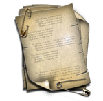 Steampunk Attached Document Icon