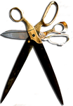 Steampunk Scissors Cut/Paste Icon