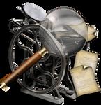 Steampunk Printer Search Icon