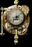 Steampunk Thingummy Clock Icon