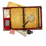 Steampunk PIM (Personal Information Manager) icon
