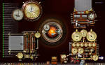 My Steampunk Desktop - 1440 x 900 pixels