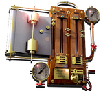 Steampunk CPU/GPU Thermometer icon by yereverluvinuncleber