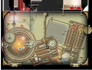 Steampunk Widget Folder Glass and Brass Icon by yereverluvinuncleber