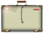 Steampunk Glass PDF Empty Folder Icon