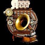 Steampunk VLC Audio Player Icon MkII