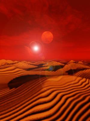 Dune Arrakis Desert landscape by yereverluvinuncleber