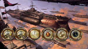 Steampunk Gauge Trial Designs by yereverluvinuncleber