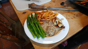 Steak and chips tonight!