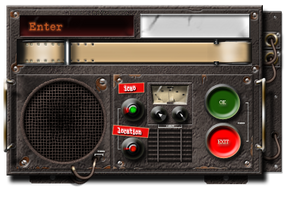 Dieselpunk Dialogue Box by yereverluvinuncleber