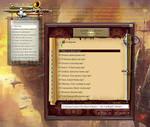 Medieval Total War Themed Folder Browser Skin