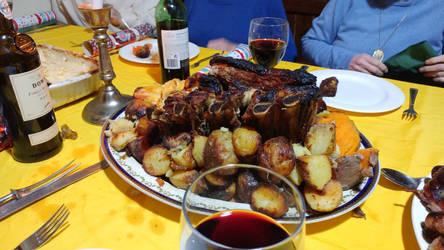 Ye Roast Beef of Olde England by yereverluvinuncleber