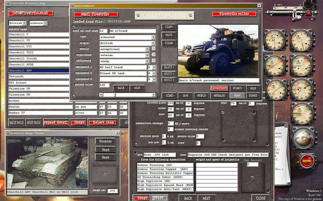 Quartermaster VB6 20mm wargaming Desktop by yereverluvinuncleber