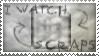 Scrap Watcher Stamp by NorthboundFox
