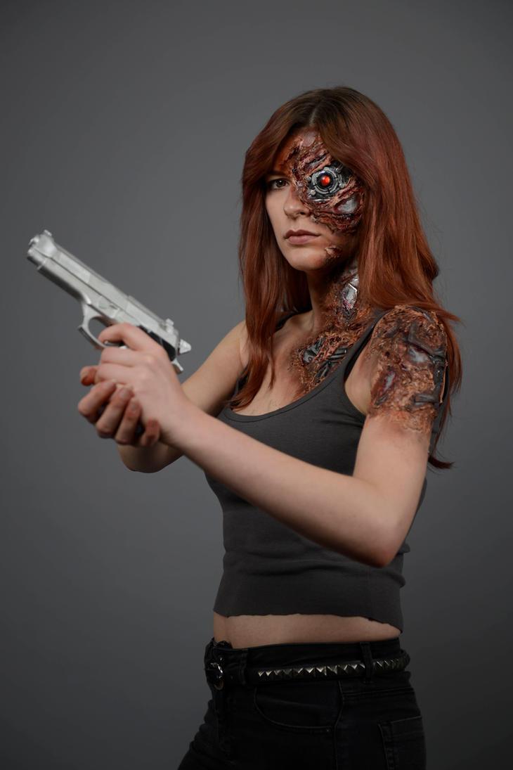 Cameron Terminator Battle Damage by Knuffel-Katha
