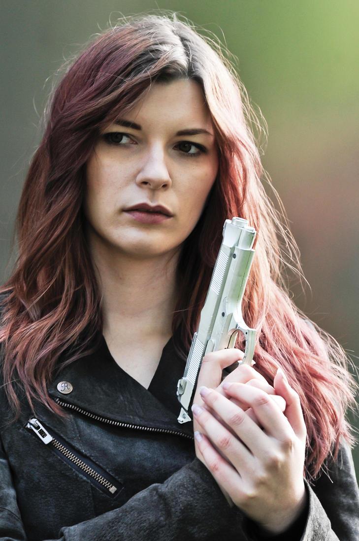 Terminator Girl by Knuffel-Katha