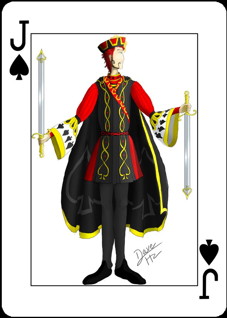 Jack of spades by davehz on deviantart