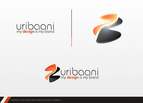 Personal Logo Design. by Uribaani