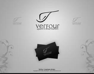 Verfour -Logotype design. by Uribaani