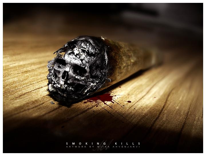 Smoking kills.