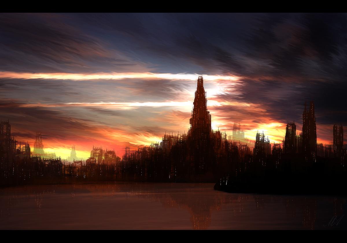 Speedpainting: City of Despair