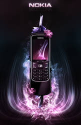 Nokia 8600 Luna Advertisement. by Uribaani