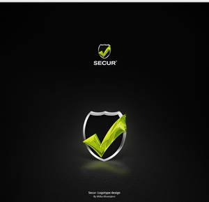 Secur -Logotype design.