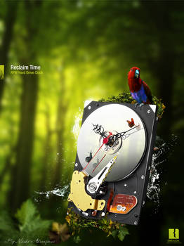 RPM HDD Clock -Advertisement