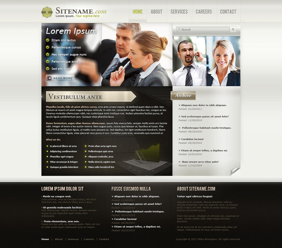 Business template design by uribaani on deviantart business template design by uribaani wajeb Images