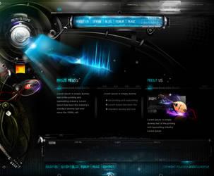 music ppage by webdesigner1921