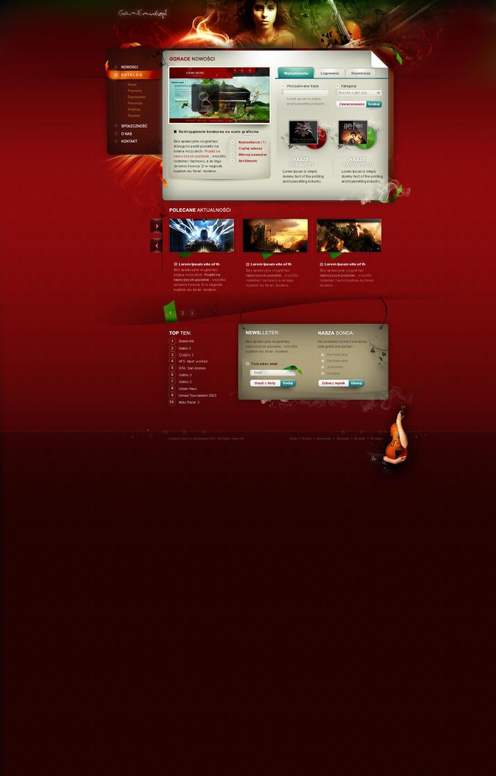 game music 3 by webdesigner1921