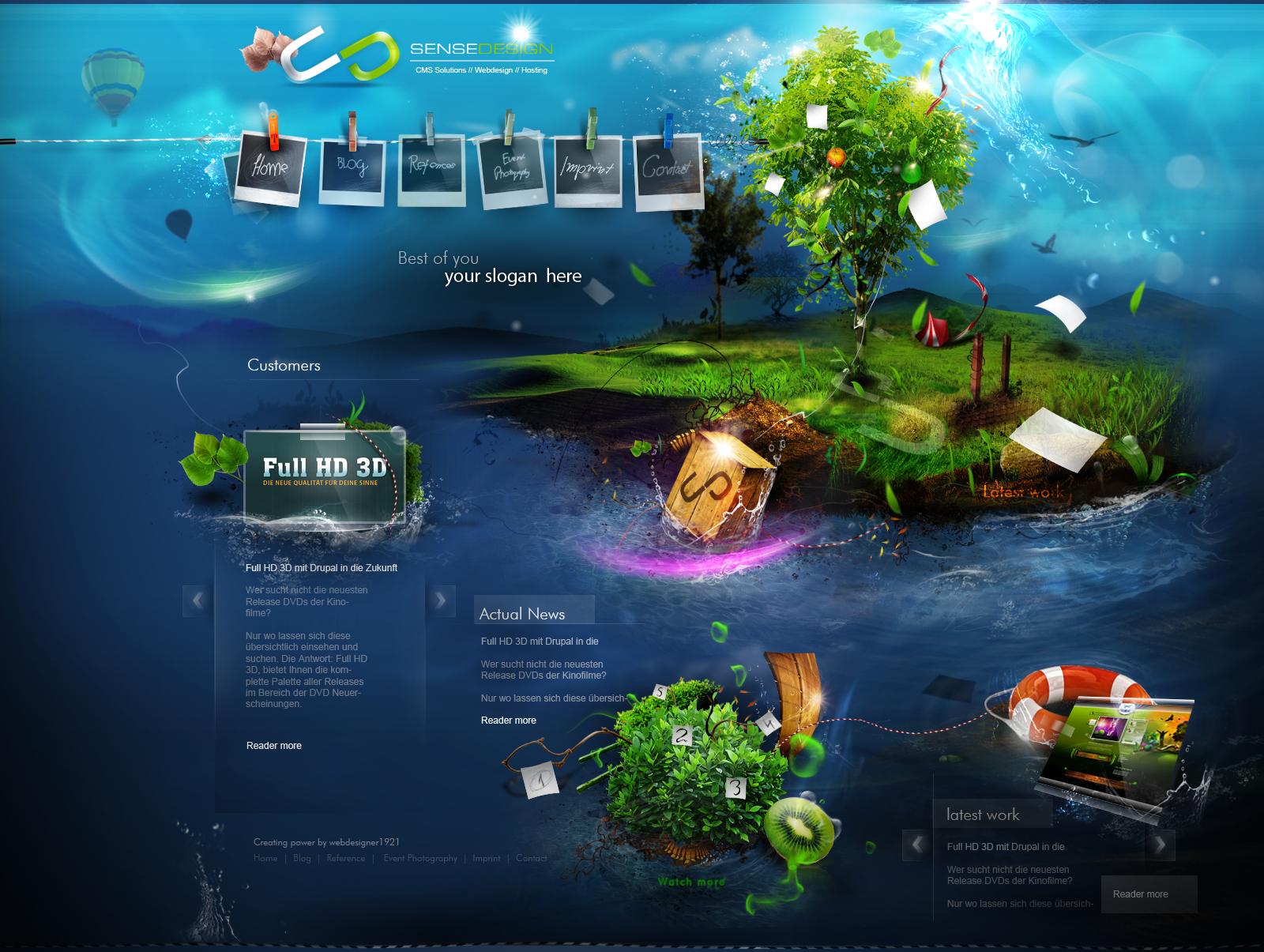 sense-design ver 1 by webdesigner1921 on DeviantArt