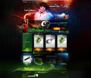 keyboard shop home ver1.0 by webdesigner1921