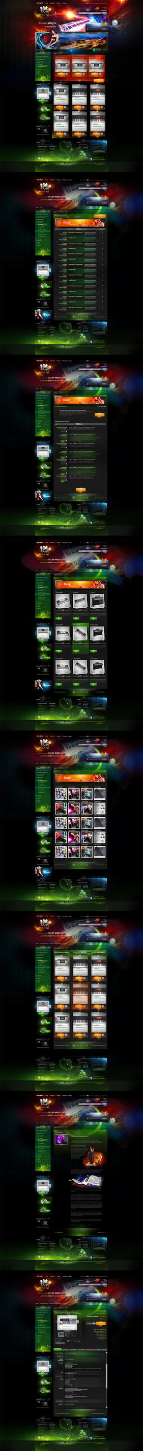 keyboard shop all page ver1.0b by webdesigner1921